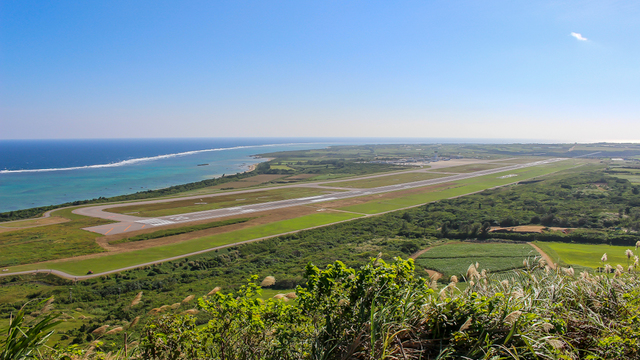 A view from Ishigaki New Airport