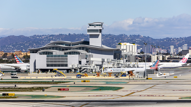 A view from Los Angeles International Airport