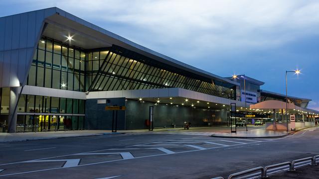 A view from Manaus Eduardo Gomes International Airport