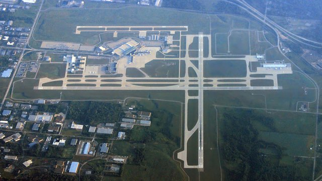 A view from Grand Rapids Gerald R. Ford International Airport