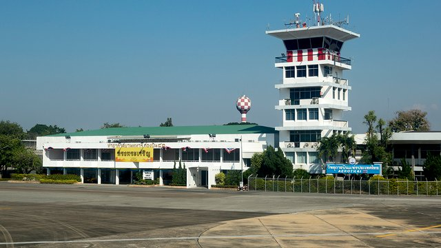 A view from Chiang Mai International Airport
