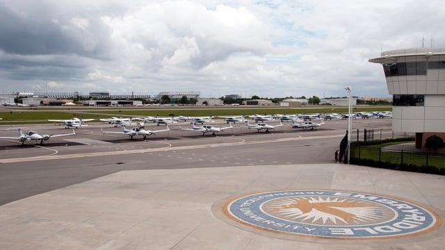 A view from Daytona Beach International Airport