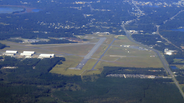 A view from Lake City Gateway Airport