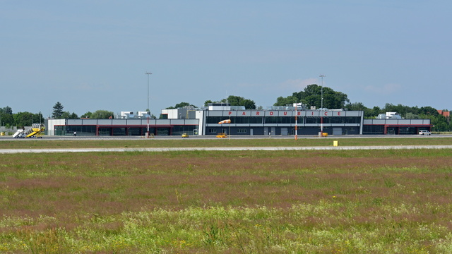 A view from Pardubice Airport