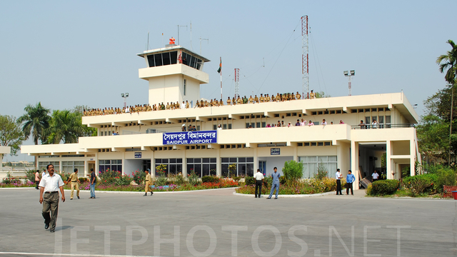 A view from Saidpur Airport