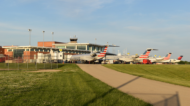 A view from Peoria International Airport