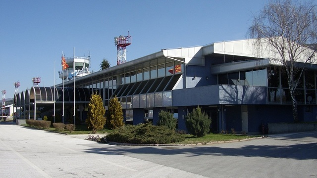 A view from Ohrid Airport