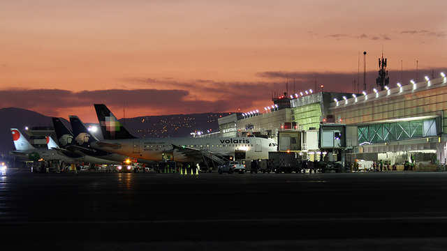 A view from Guadalajara International Airport