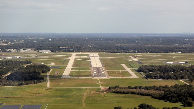 A view from Lakeland Linder Regional Airport