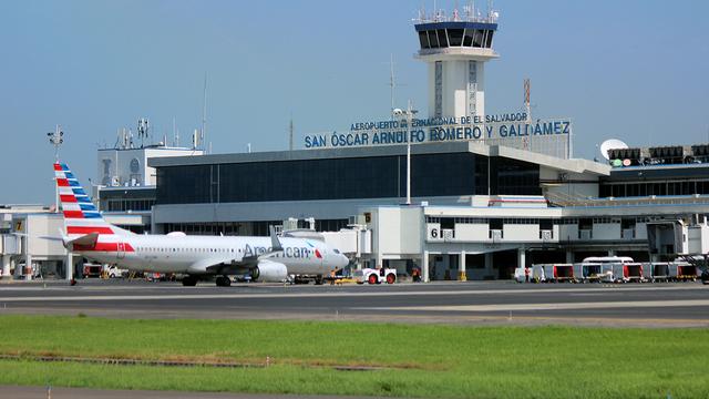 A view from San Salvador International Airport