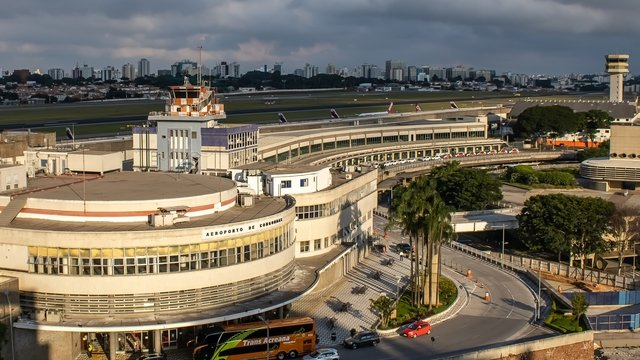 A view from Sao Paulo Congonhas Airport