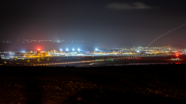 A view from Fuerteventura Airport