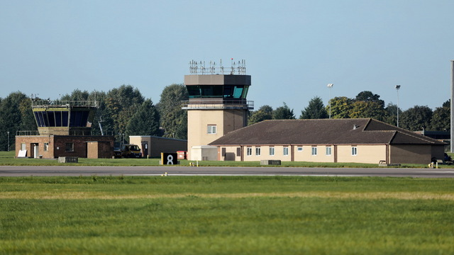 A view from RAF Waddington