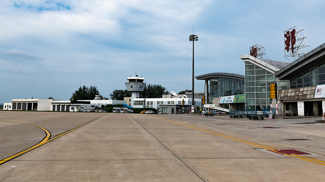 A view from Handan Airport