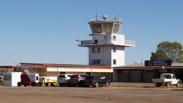A view from Mount Isa Airport
