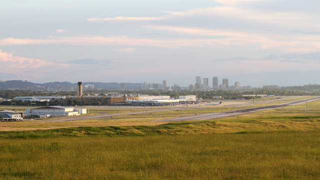 A view from Birmingham Shuttlesworth International Airport