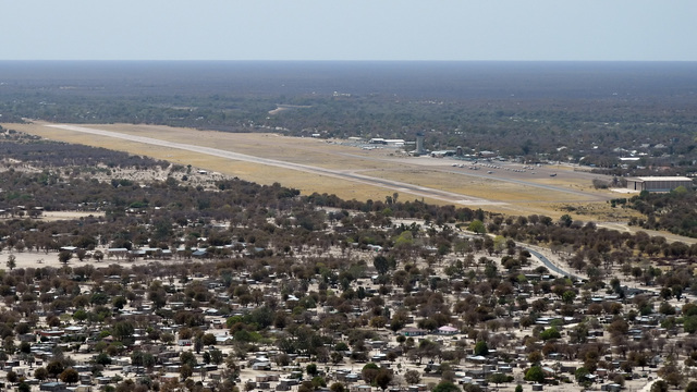 A view from Maun Airport