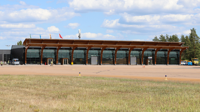 A view from Jyvaskyla Airport