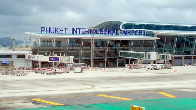 A view from Phuket International Airport