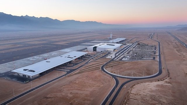 A view from Eilat Ramon Airport
