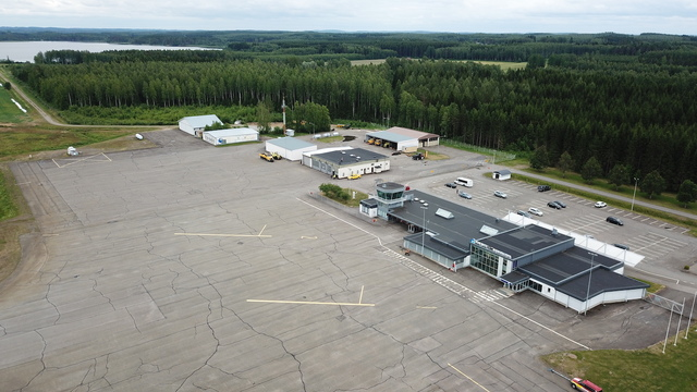 A view from Savonlinna Airport