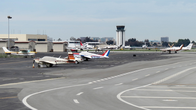 A view from San Jose International Airport