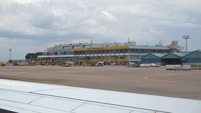 A view from Entebbe International Airport