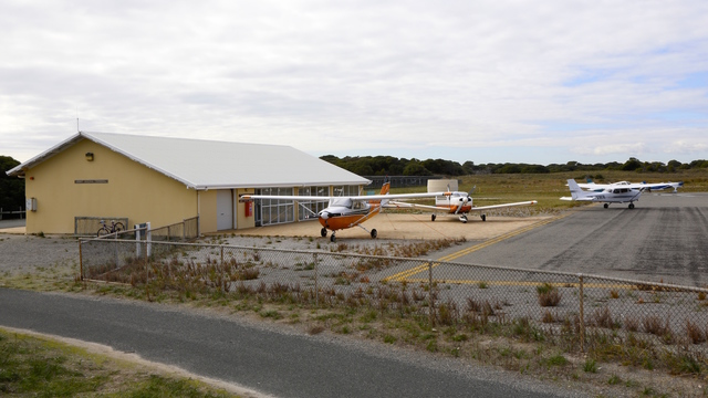 A view from Rottnest Island Airport