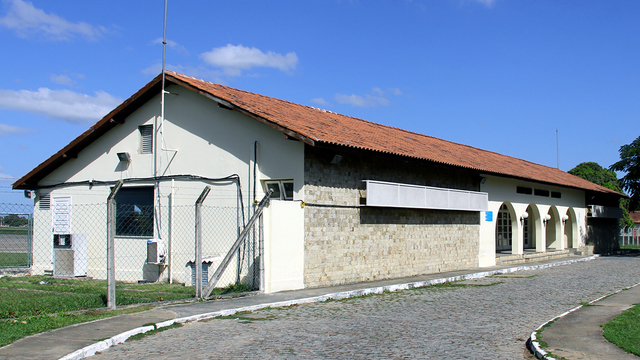 A view from Campos dos Goytacazes Bartolomeu Lysandro Airport