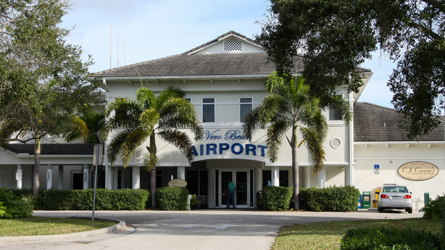 A view from Vero Beach Municipal Airport