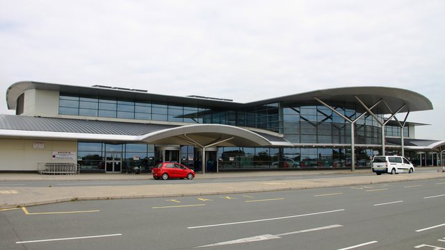 A view from Guernsey Airport