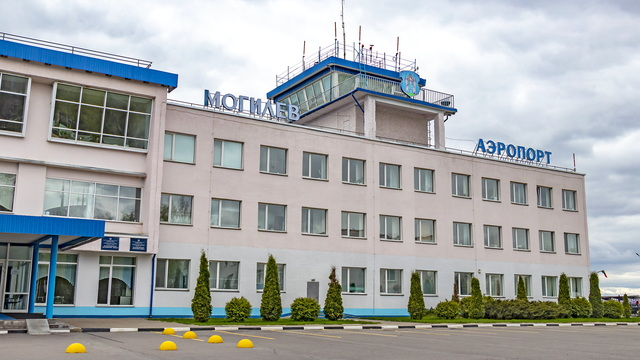 A view from Mogilev Airport