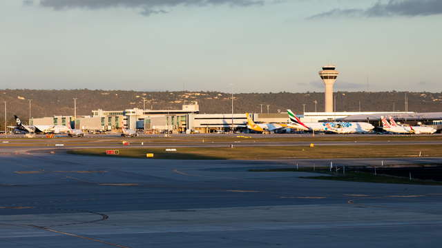 A view from Perth Airport
