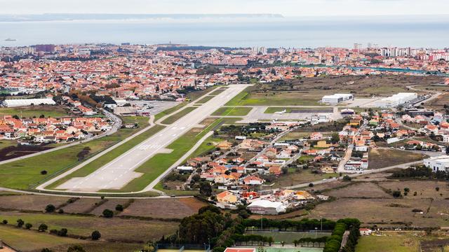 A view from Cascais Municipal Aerodrome
