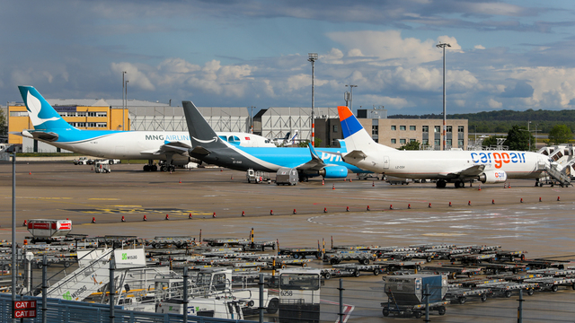 A view from Cologne Bonn Airport