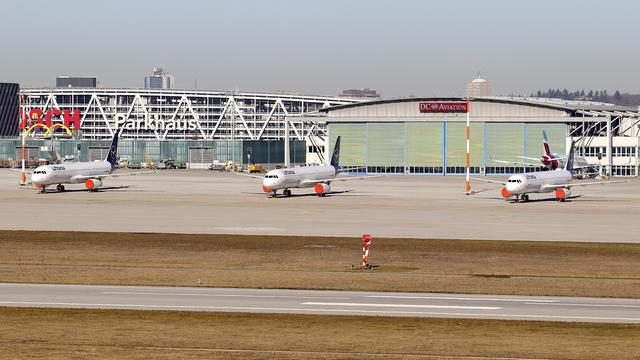 A view from Stuttgart Airport
