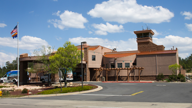 A view from Grand Canyon National Park Airport