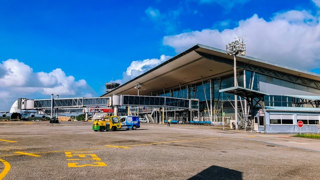 A view from Cayenne Felix Eboue Airport