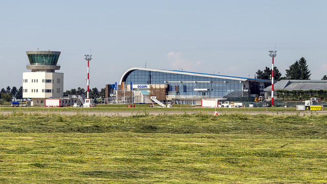 A view from Suceava International Airport