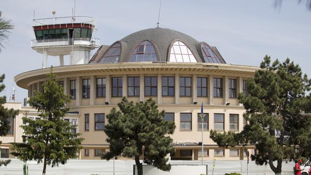 A view from Bucharest Aurel Vlaicu Airport