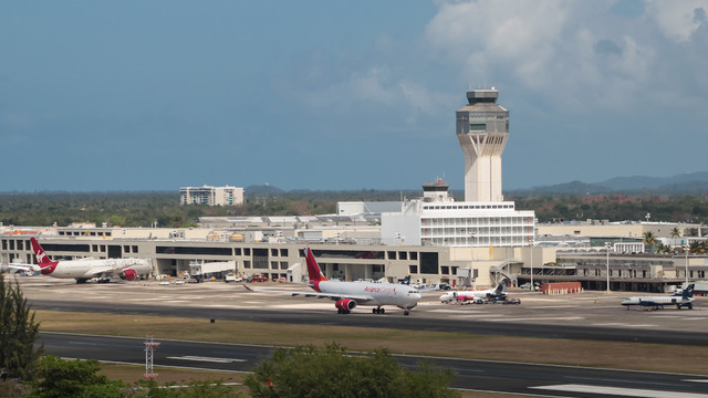 A view from San Juan Luis Munoz Marin International Airport