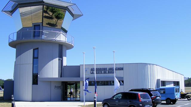 A view from Arcachon La Teste-de-Buch Airport