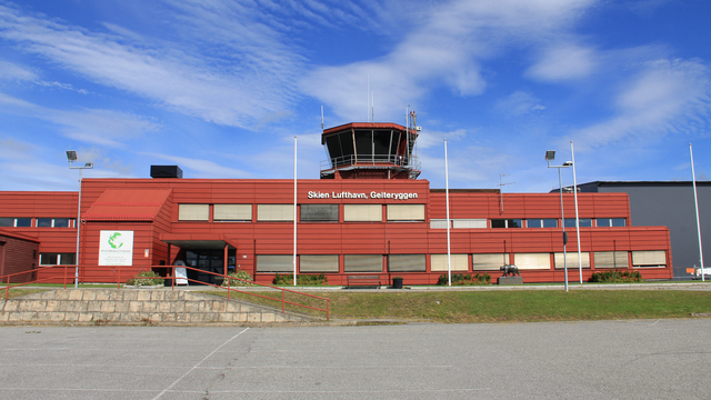 A view from Skien Airport