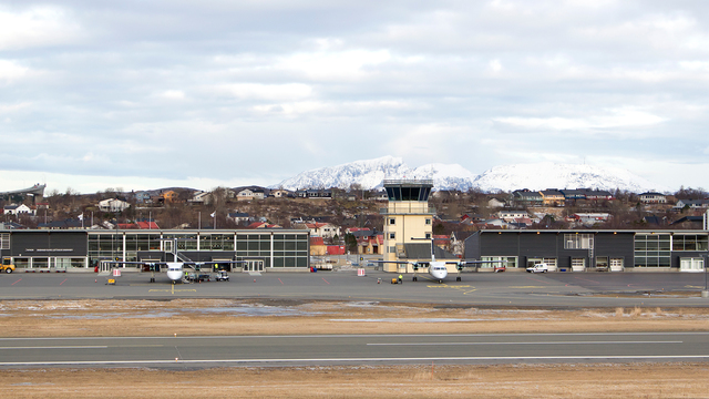 A view from Bronnoysund Airport