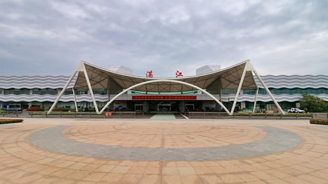 A view from Zhanjiang Airport