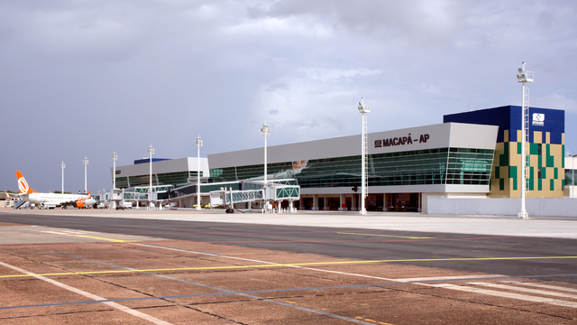 A view from Macapa International Airport