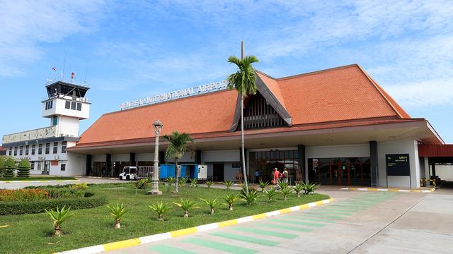 A view from Siem Reap International Airport