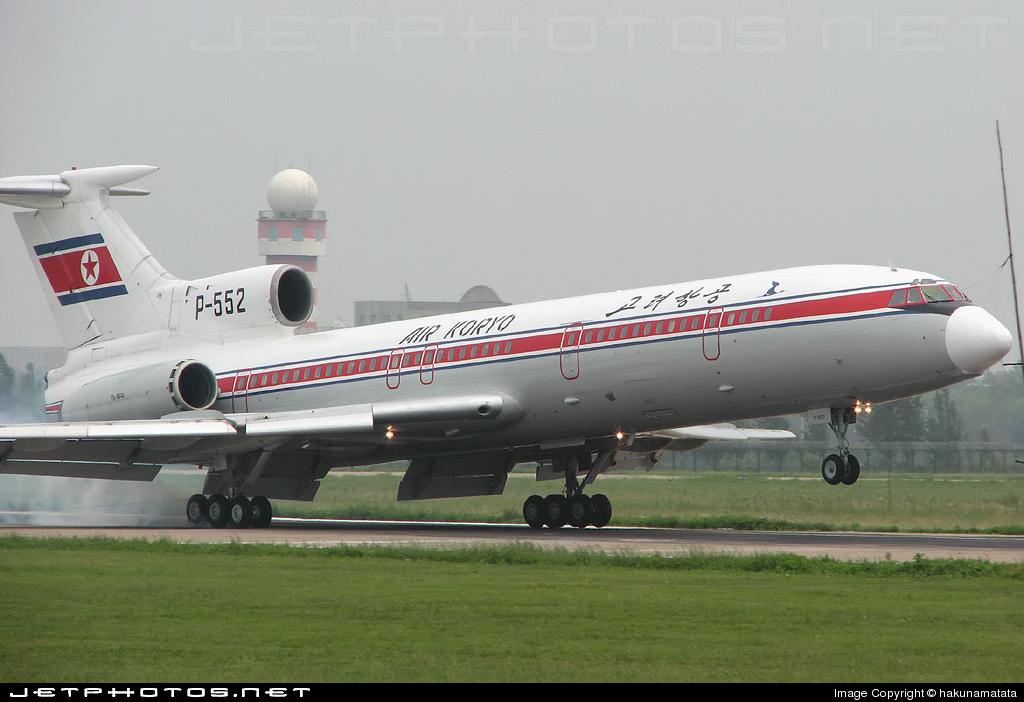 P-552 - Tupolev Tu-154B-1 - Air Koryo
