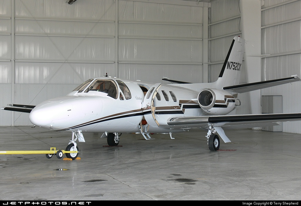 N752CK - Cessna 500 Citation - Private