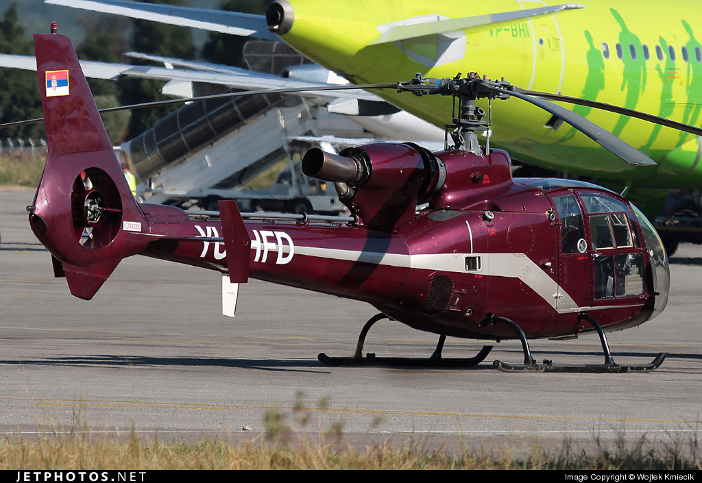 YU-HFD - Aérospatiale SA 341H Partizan - Private